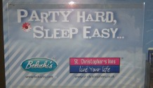 Party hard, sleep easy